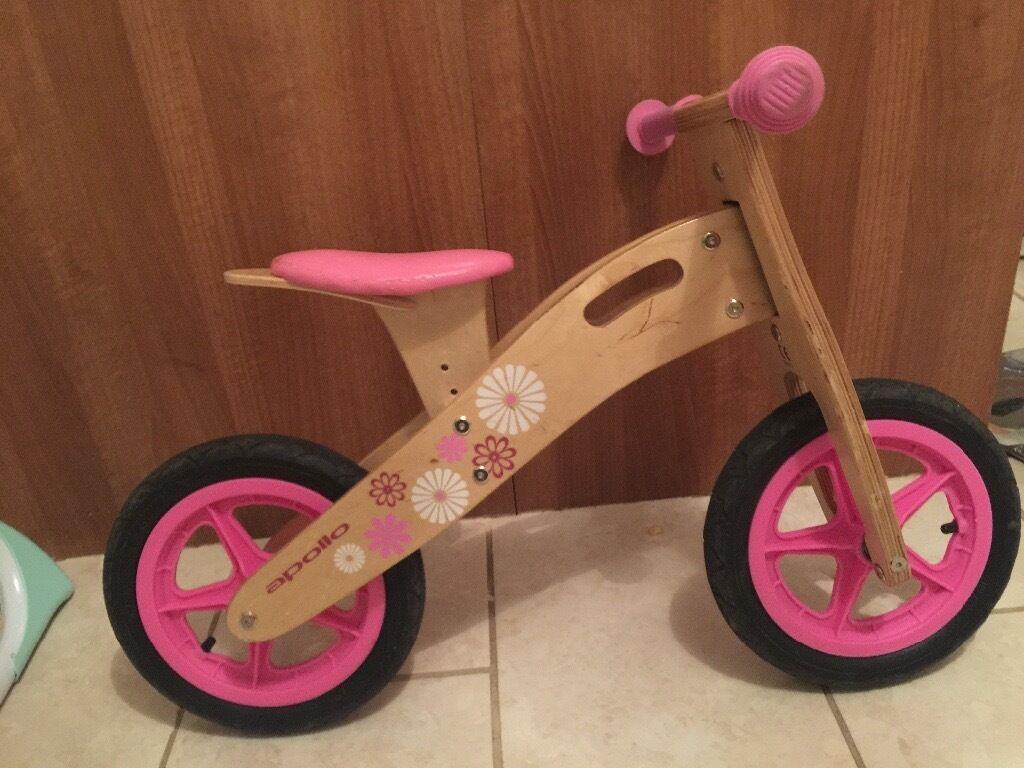 Girls Wooden Balance Bike In Sandwell West Midlands Gumtree