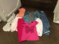 Girl clothes bundle ted baker, Zara etc