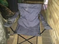 Camping chair and sleeping bag for sale