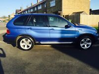 BMW X5 3.0D sport , Estorial Blue