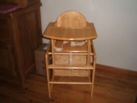 East Coast Solid Wooden Highchair