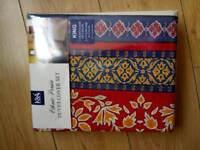 Kingsize quilt cover new