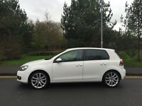VW GOLF 2.0 GT TDI 140 BHP 60 REG 5 DOOR CANDY WHITE