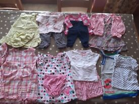 Baby Girls Clothes- 9-12 months