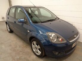 FORD FIESTA DIESEL , 2008 REG , LOW MILES + HISTORY , £30 YEAR ROAD TAX, LONG MOT, FINANCE, WARRANTY