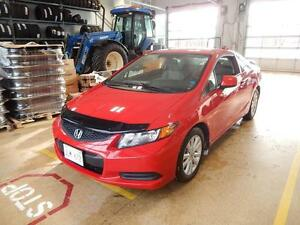 2012 Honda Civic Cpe EX Sporty coupe
