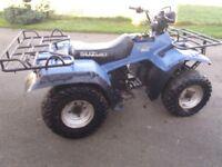 Suzuki 250cc farm quad