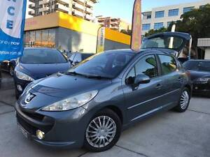 TURBO DIESEL 2007 Peugeot 207 D4D HDi LOW KS LONG REGO LOGBOOKS Sutherland Sutherland Area Preview