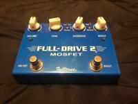 Fulltone Full-Drive 2 Overdrive Guitar Pedal