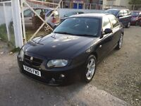 MG ZT 1.8 120 4dr BLACK 2005 ** LOW MILEAGE ** Cheap family car **