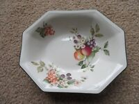 Forest Fruit Serving bowls and Serving Plate