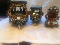 Indian / Pakistani Ornamental Rickshaws and Truck