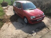 Fiat Siecento 10months ideal first car 03 plate
