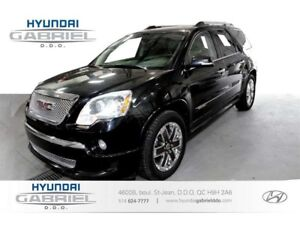 2012 GMC Acadia Denali AWD 7 PASS 7 PASSAGERS, JAMAIS ACCIDENT&E