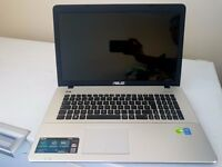 ASUS 17.3 INCH i7 NVIDIA GRAPHICS LAPTOP