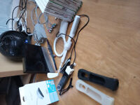 black Wii console 8 games