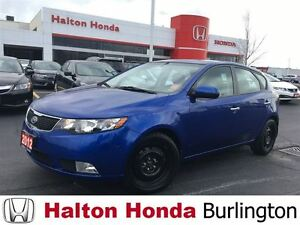 2012 Kia Forte 5-Door SX | 6SP | ALLOYS | LEATHER | SUNROOF
