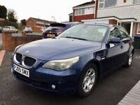 Bmw 5 Series, 2005, Blue, 2.5 Turbo Diesel, 1 Former Keeper, 12 MONTHS MOT, Full Service History