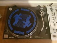 2 x Technic 1210 mk2 turntables with Pioneer Needles and Kam Mixer for sale - Collection Only