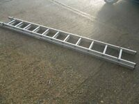 extension 2 section ladder 2 x 3 m .£ 35
