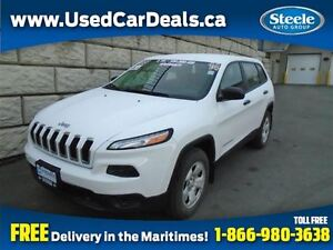 2014 Jeep Cherokee Sport 4X4 2.4L Fully Equipped Cruise