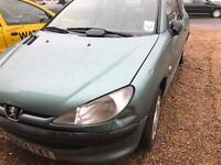 Peugeot 206 1.1 style 2003 still INSURED long mot reliable cheap car