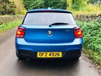 Totally mint June 2013 BMW 116I M Sport 5dr Trade in considered, credit cards accepted