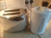 George Asda Kettle & Morphy Richards Toaster Good Condition