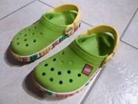Children's Lego Crocs, size 12-13