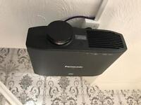 """Panasonic PT-AT5000 projector 120"""" screen and mount"""