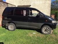 Mitsubishi delica swap for van