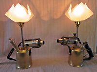 Brass Blow Torch Lamps