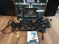 Boxed Sega Megadrive 2