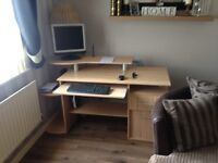 Computer table £30