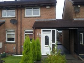 2 bedroom mid terrace flat next to Stobhill Hospital for rent