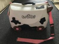 "TRUNKI ""Cow"" travel suitcase for kids."