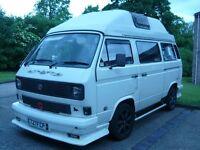 vw t25 transporter campervan