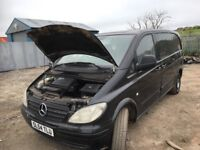 Mercedes vito van spare parts available breaking