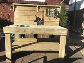 Outdoor/ mud kitchen