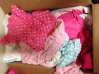 Diaper Box of baby girl dresses
