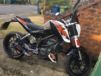 KTM 125 Duke for sale in great condition - a perfect learner bike. Great fun, ABS brakes and safe