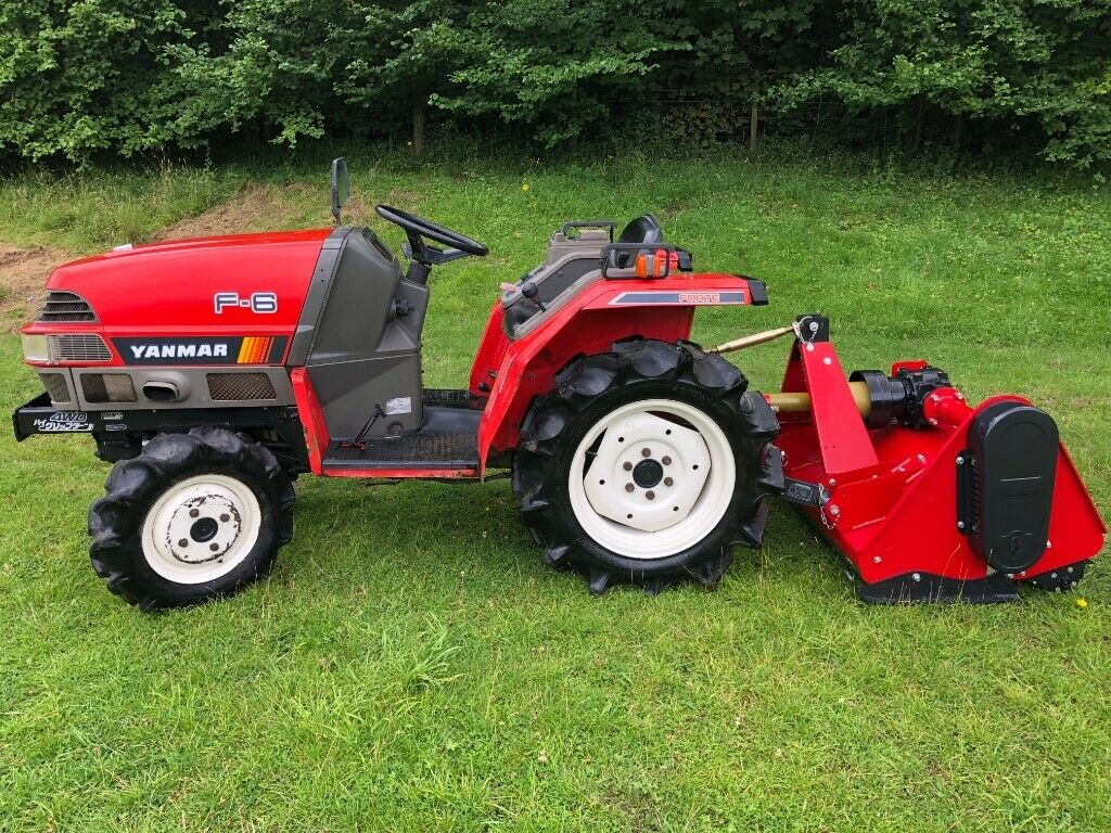 Yanmar F-6 4WD Compact Tractor New Flail Mower, 588 Hours **MINT  CONDITION!** | in Gloucester, Gloucestershire | Gumtree