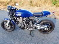 1994 Triumph Cafe Racer 900 Triple. . CRK conversion parts fitted.