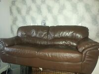 Three settee sofa no offers as its a bargain