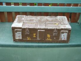 """Steel Ammo Boxes, 25"""" Long X 13"""" Wide X 8"""" Deep"""