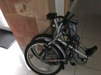 Folding bicycle for sale excellent condition