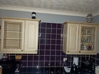 Two FREE Kitchen Wall - Display Units