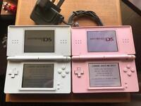x2 Nintendo DS lite