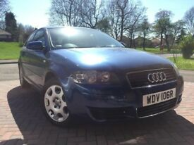 AUDI A3 1.6 SPECIAL EDITION 2004 PRIVATE PLATE CREAM INTERIOR MINT RUNNER F.S/HISTORY HPI CLEAR