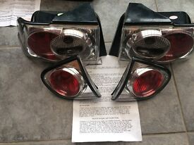 BRAND NEW: Lexus rear lights, bought for 1993 Ford Escort Mark 5.